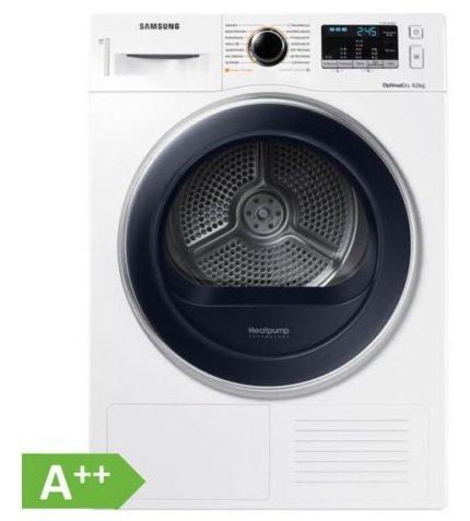 Samsung Wärmepumpentrockner DV8TM5010QW (A++ 8kg) für 444€ inkl. Versand