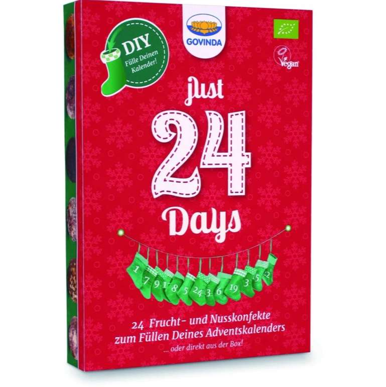 "Vitafy Black Friday Knaller mit bis -40% + 20% Extra - z.B. Veganer Adventskalender ""Do-it-yourself"" ab 9,03€"