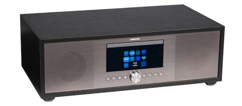 Medion Life P66040 All-in-One Audio System Radio (Internet/DAB+/PLL-UKW) für 129,66€ inkl. Versand (statt 152€)