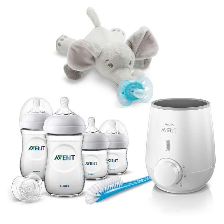Philips Avent SCF355/00 Babykostwärmer inkl. Flaschenset & Schnullertier Elefant für 58,23€ inkl. Versand (statt 70€)
