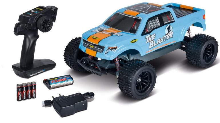 RTR Elektro R/C Fahrzeug Carson The Blaster FE für 74,99€ (statt 86€)