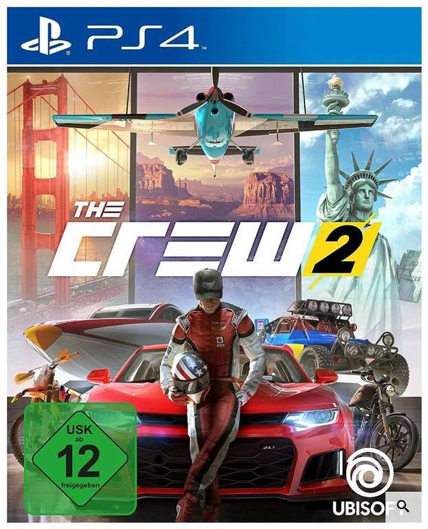 The Crew 2 (PS4) für 18,79€ inkl. Versand (statt 22€)