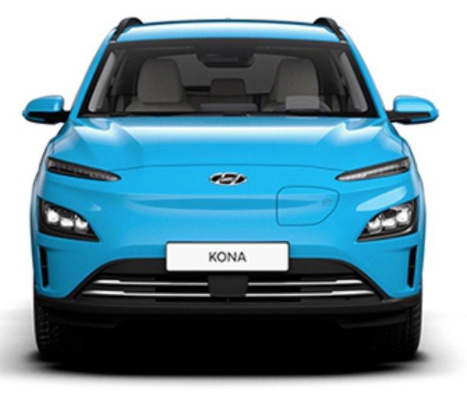 Gewerbe Leasing: Hyundai Kona Elektro mit 136PS für 57,12€ mtl. (BAFA, Überführung + Zulassung: 1040€, LF: 0,16)
