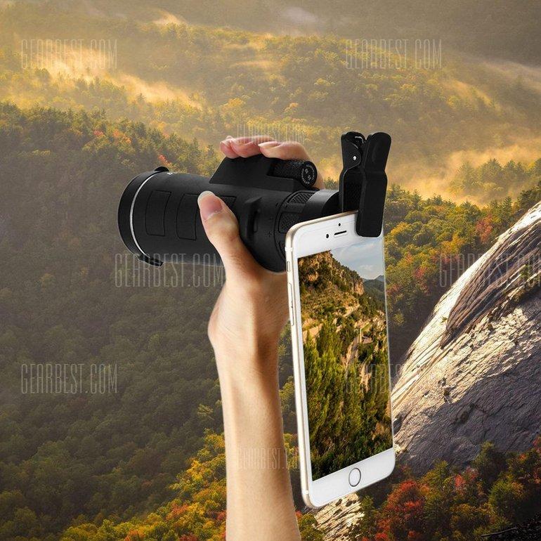 Teleskop-Objektiv für das Smartphone nur 8,14€ inkl. Versand