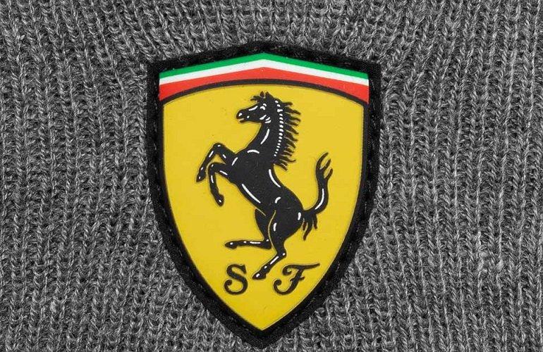 Scuderia Ferrari Knitted Beanie Wintermütze + Winterhandschuhe 2