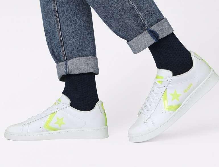 Converse Hi-Vis Pro Leather Low Top Unisex Sneaker für 50,99€ (statt 59€)