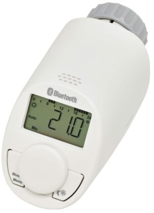 Eqiva Bluetooth Smart Heizkörperthermostat (141771E0A) für 15,98€ inkl. Versand (statt 23€)