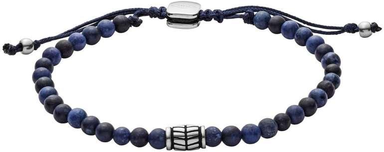 Fossil Herren Armband Blue Semi-Precious (JF02888040) für 24,50€ inkl. Versand (statt 31€)