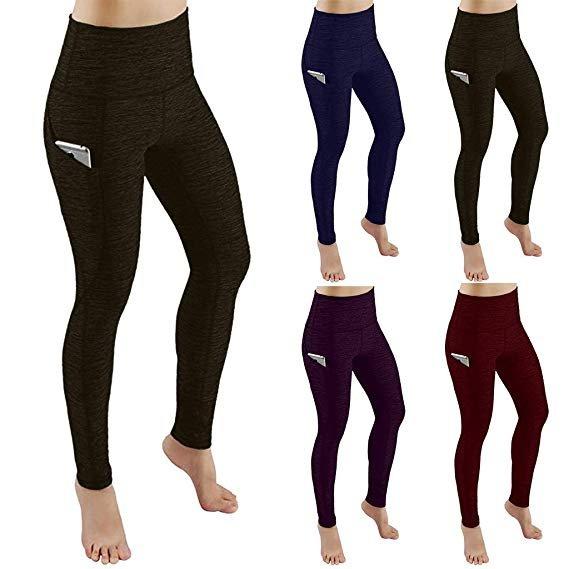 Uribaky Damen Sport Leggings mit Taschen (2 Längen & verschiedene Farben) ab 6€ inkl. Versand