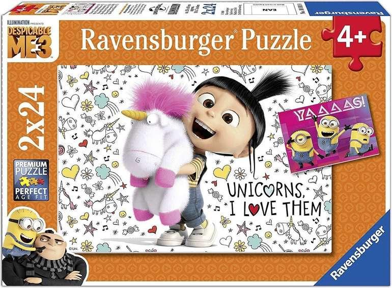 """Ravensberger Puzzle """"Agnes und die Minions"""" 2 x 24 Teile für 3,51€ inkl. Versand (statt 7€) - Kundenkarte!"""