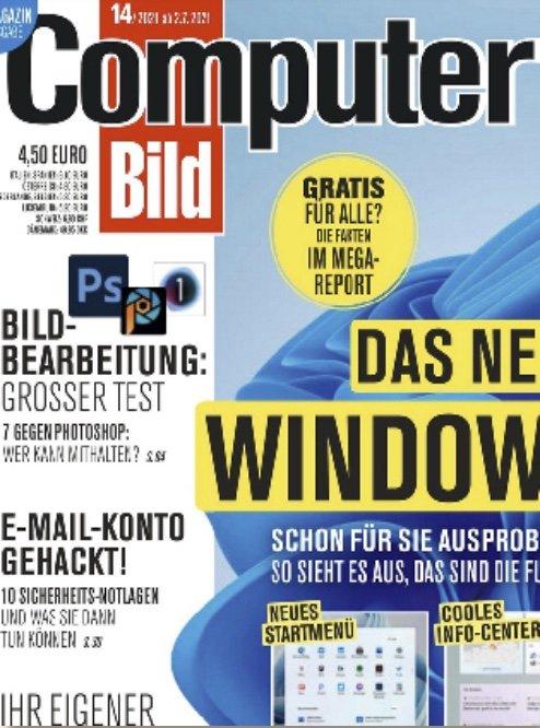 Gratis: Computer Bild mit DVD im 3-Monats-Abo komplett kostenlos