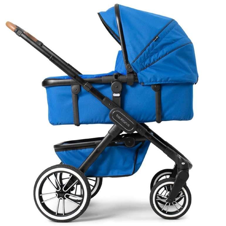 Teutonia Kombikinderwagen Trio in Black/Urban Blue für 449,99€ inkl. Versand (statt 555€)