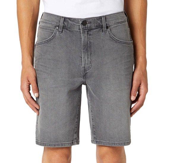 Wrangler Herren 5 Pocket Shorts in Grau für 23,58€ (statt 33€)
