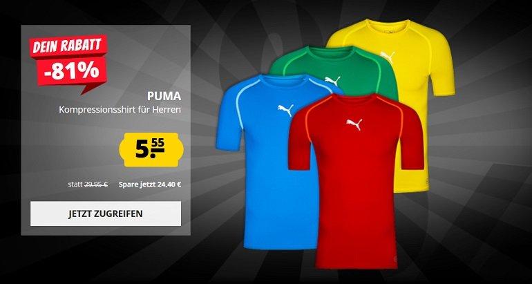 Puma TB Herren Kompressions-Funktionsshirt