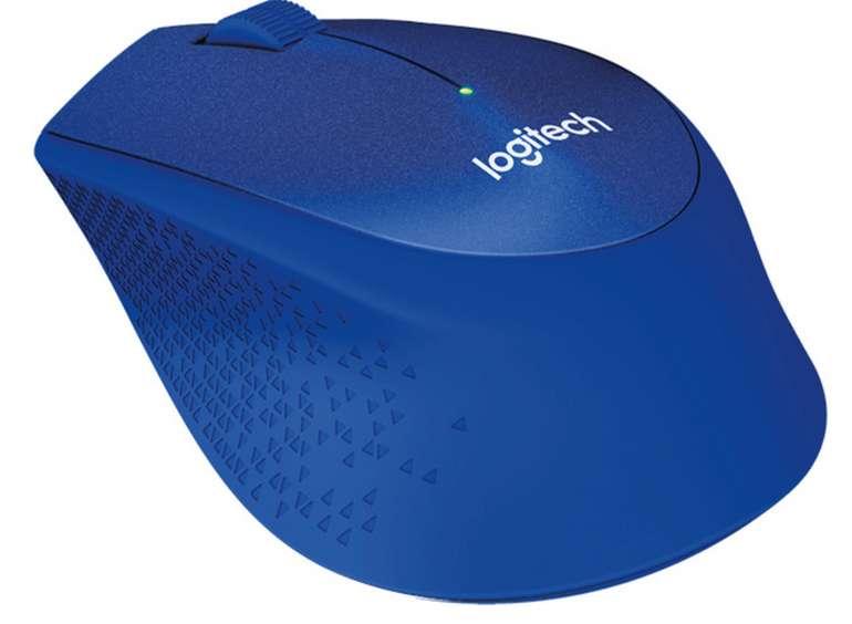 Logitech M330 Silent Plus in Blau (3 Tasten, kabellos) für 19,99€inkl. Prime Versand (statt 30€)