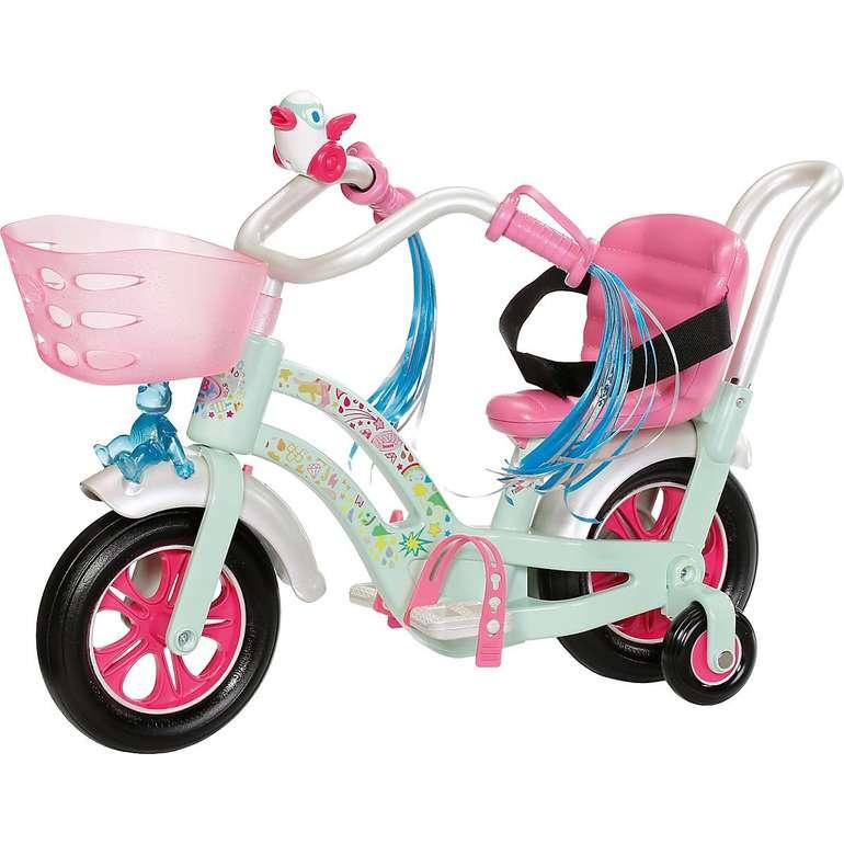 Baby Born Fahrrad + Deluxe Fahrrad Outfit für 36,95€ inkl. Versand (statt 59€)