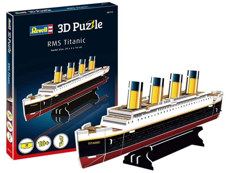 Revell RMS Titanic 3D Puzzle (00170) für 15,98€ inkl. Versand (statt 23€)