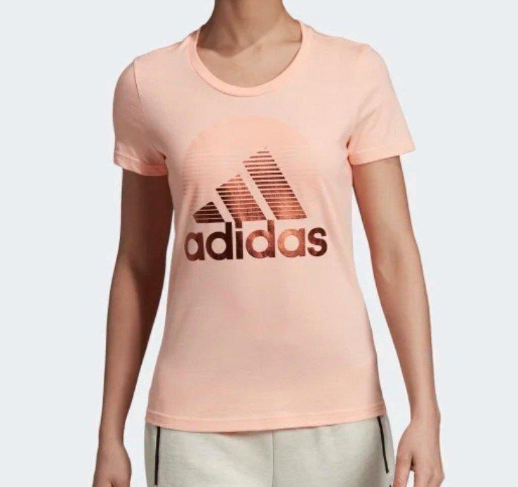Adidas Athletics W MH Foil Tee - Damen T-Shirt für 13,98€ inkl. Versand (statt 25€) - Creators Club!