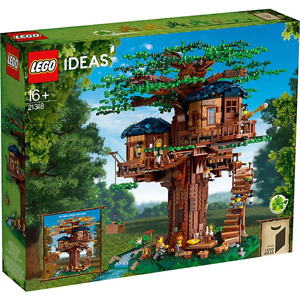 Lego 21318 Ideas: Baumhaus für 146,94€ inkl. Versand (statt 194€) - Paydirekt