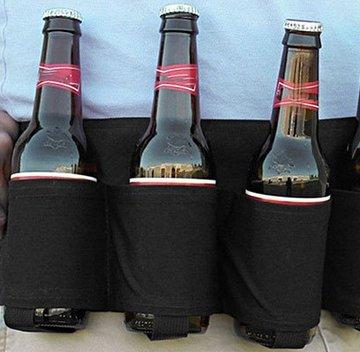 China-Gadget: Bier-Gürtel für bis zu 6 Flaschen nur 5,84€ inkl. Versand