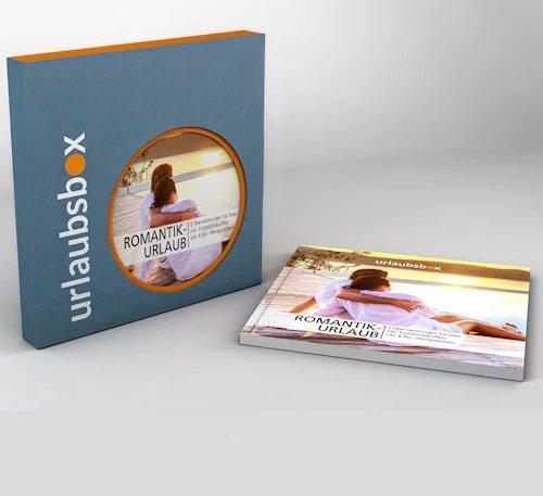 Valentinstag: Urlaubsboxen als Geschenkidee, z.B. Romantikurlaub mit 2 ÜN für 199,90€