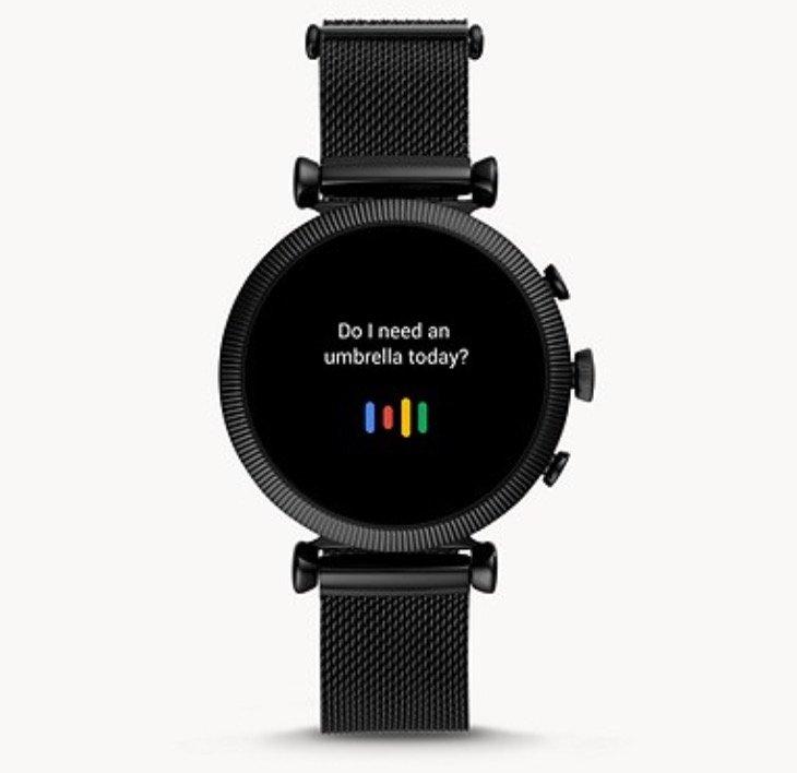 Fossil FTW6050 Sloan - Damen HR Smartwatch (4. Generation, Milanaise) für 139,50€ (statt 279€)