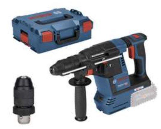 Bosch GBH 18V-26 F Akku-Bohrhammer mit SDS plus + L-BOXX (ohne Akku, ohne Ladegerät) für 208,11€
