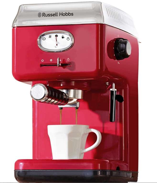 Russell Hobbs Espressomaschine 28250-56 für 89,99€ inkl. Versand (statt 106€)