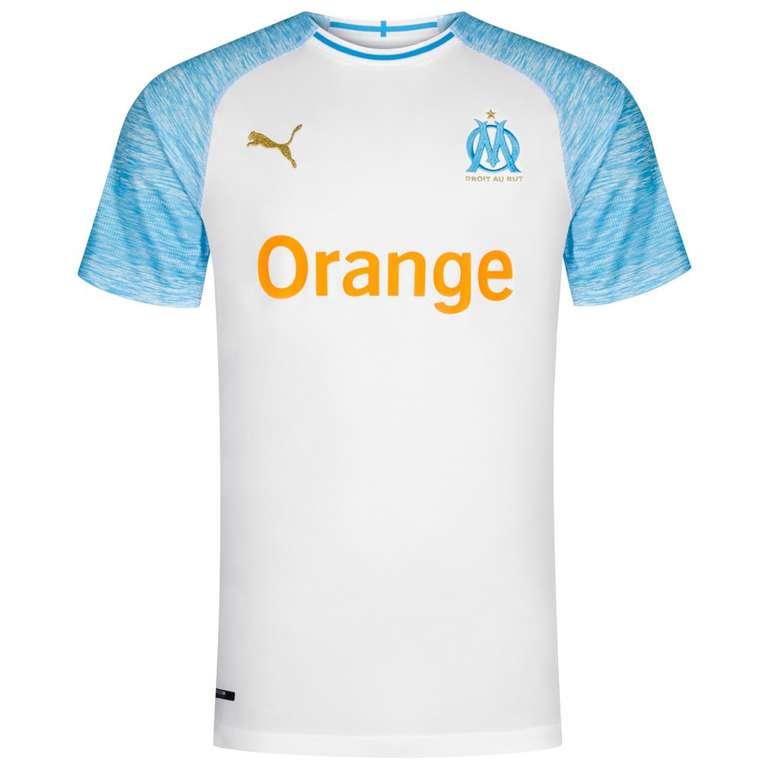 Olympique Marseille Puma Herren Trikots 18/19 für je 23,94€ (statt 39€)