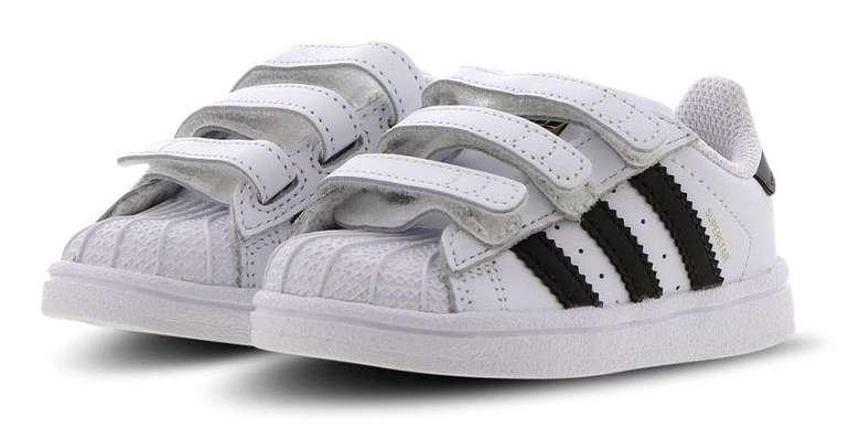 Adidas Superstar CF I Velcro Baby Sneaker für 39,99€ inkl. Versand (statt 45€)