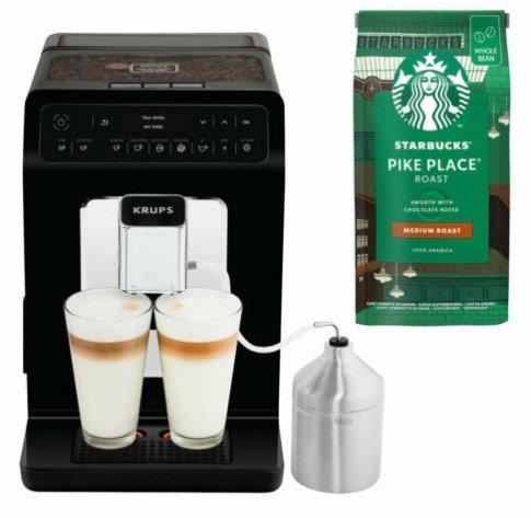 Krups EA8918 Evidence Kaffeevollautomat + Starbucks Kaffee für 389,90€ inkl. Versand (statt 422€)