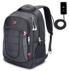 """Lebexy XY Life - 17"""" Notebook Rucksack mit USB Ladeanschluss für 17,99€"""