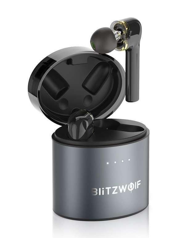 BlitzWolf BW-FYE8 TWS Bluetooth Kopfhörer mit Ladebox für 27,79€ inkl. Versand (statt 40€)
