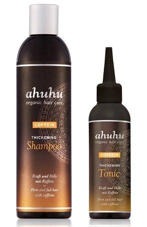 AHUHU Coffein Thickening 300ml Shampoo & 100ml Tonic für 19,90€ inkl. VSK
