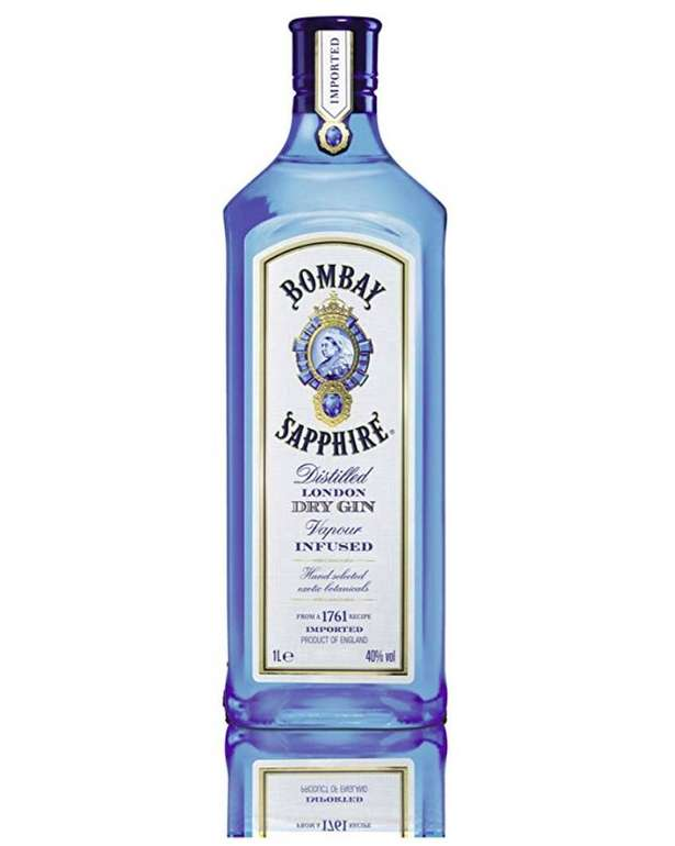 Bombay Sapphire London Dry Gin (1 Liter) für 19,09€ (statt 25€) - Prime!