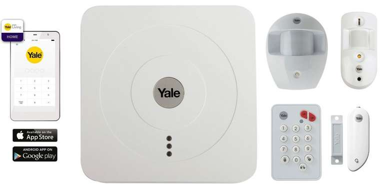 Yale SR3200i Smart Home Alarmsystem für 185,90€ inkl. Versand (statt 300€)