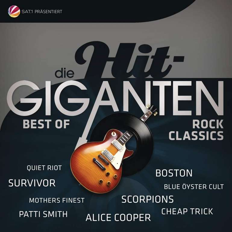 Saturn: Viele Vinyl Schallplatten ab 12,99€, z.B. Hit Giganten Rock Classics für 12,99€