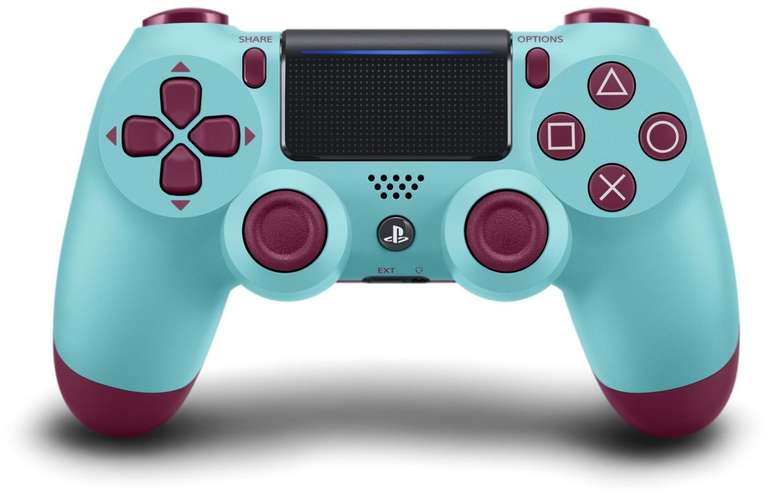Sony PlayStation 4 DualShock 4 Wireless Controller V2 (Berry Blue) für 39,70€