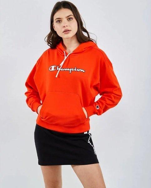 Champion Logo Damen Hoodie für 39,99€ inkl. Versand (statt 70€)