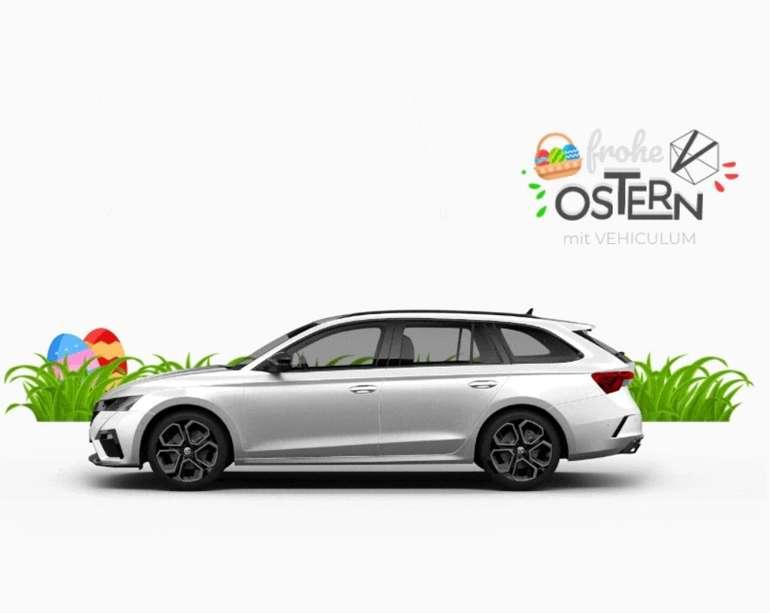 Vehiculum: Oster Leasing-Deals für Gewerbetreibende – z.B. Skoda Octavia RS Combi ab 206€ mtl.