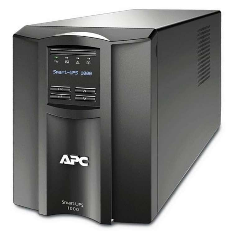 APC SMT1000IC Smart-UPS USV mit 700 Watt für 373,53€ inkl. Versand (statt 438€)