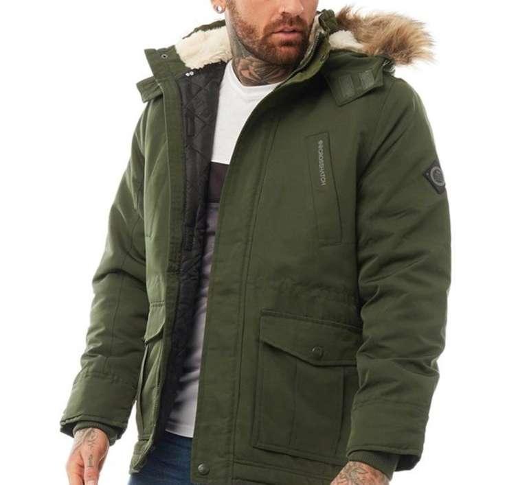 Jacken und Mäntel zum halben Preis bei MandMDirect - z.B. Crosshatch Herren Fellflower Parka für 35,95€