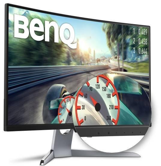 BenQ EX3203R - 31,5 Zoll Curved VA LED-Monitor für 386,10€ (Vergleich: 440€)