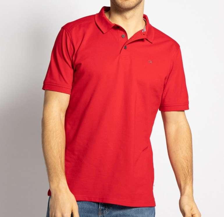 Calvin Klein Campus Herren Poloshirt für 31,45€ inkl. Versand (statt 44€)
