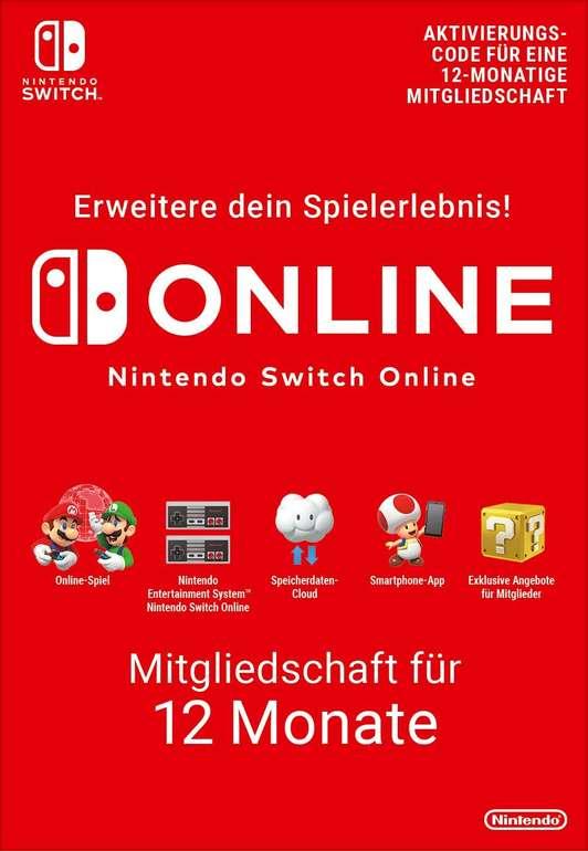 Nintendo Online 12 Monate (365 Tage) Mitgliedschaft für 14,49€ (statt 17€)