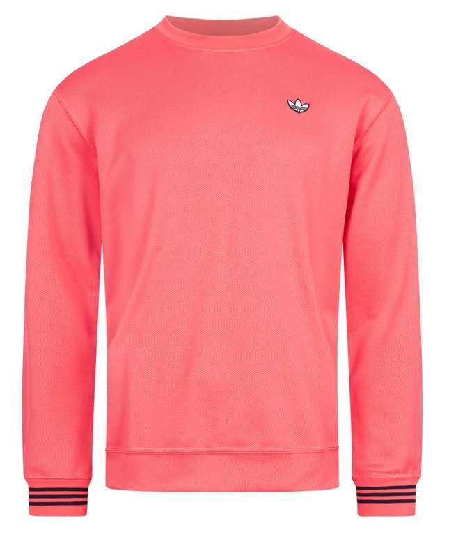 adidas Originals Pique Crewneck Herren Sweatshirt in rot für 33,94€inkl. Versand (statt 40€)