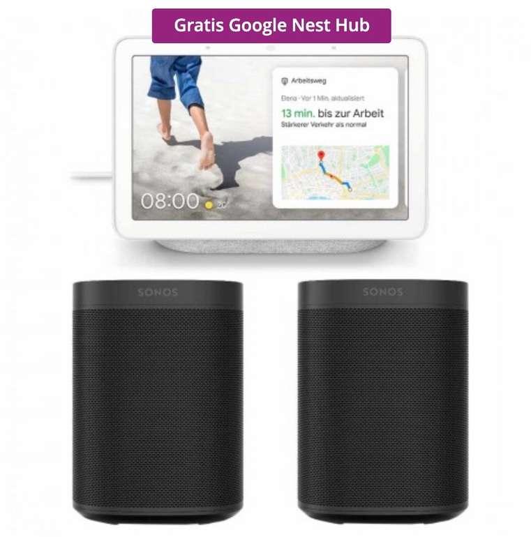 Tink Smart Week 2020 Angebote - z.B. Sonos One Stereo Set + gratis Google Nest Hub für 399€ (statt 511€)