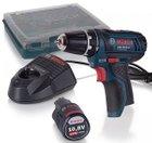 Schnell! Bosch GSR 10,8-2-LI Akkuschrauber + Akku 2.0Ah & Ladegerät für 49,99€