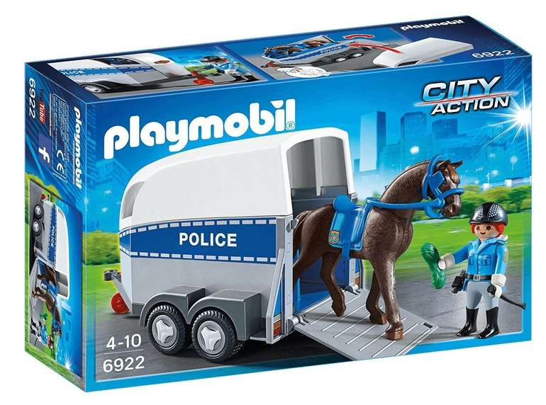 Polizeipferd mit Anhänger (6922) für 16,94€ (statt 24€)