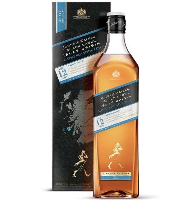 Johnnie Walker Black Label 12 Jahre – Islay Origin Limited Edition Blended Scotch Whisky (1 Liter) für 34,49€ inkl. Prime Versand (statt 45€)